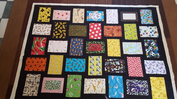cute kids I Spy quilt