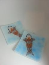 Kite image custom ordered as coasters